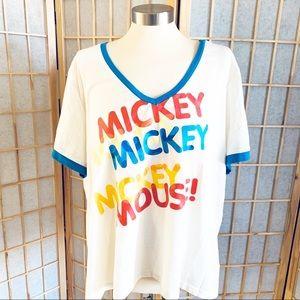 Disney Mickey Plus Size Tee